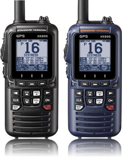 Standard Horizon HX890 Black Handheld VHF 6W
